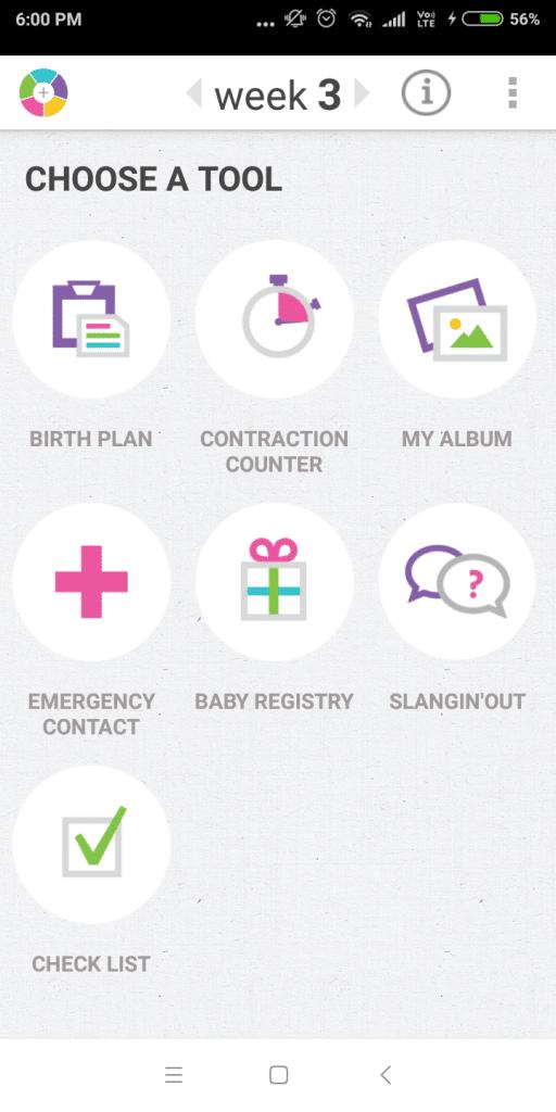 Pregnancy Aid Application