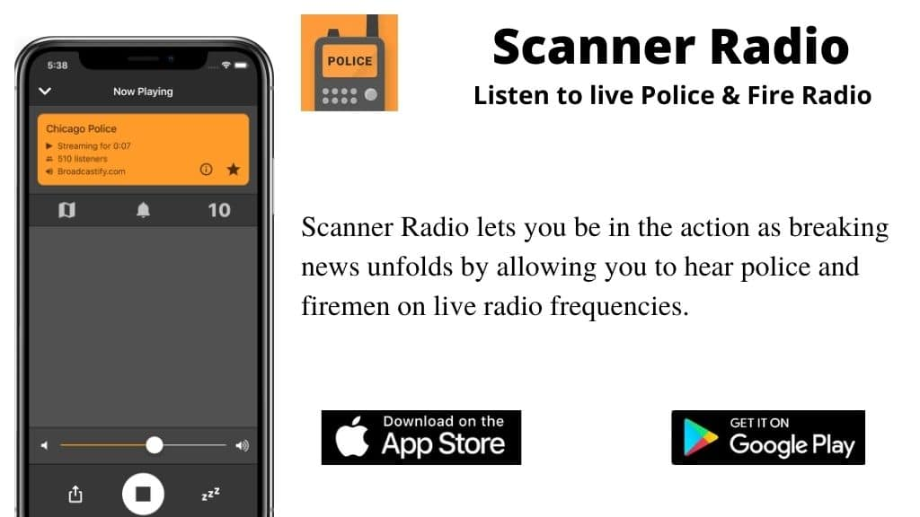 Scanner Radio - Fire and Police Scanner Radio scanner