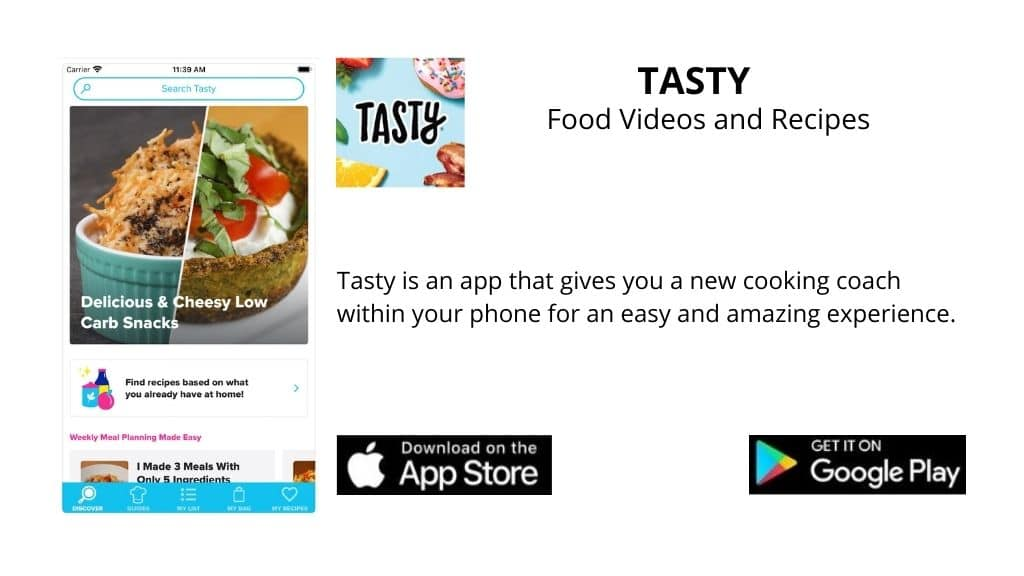 Tasty: Food videos and recipes