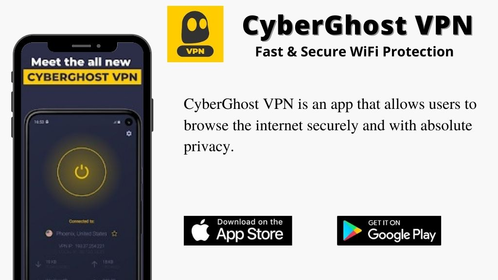 CyberGhost VPN - Fast & Secure WiFi Protection