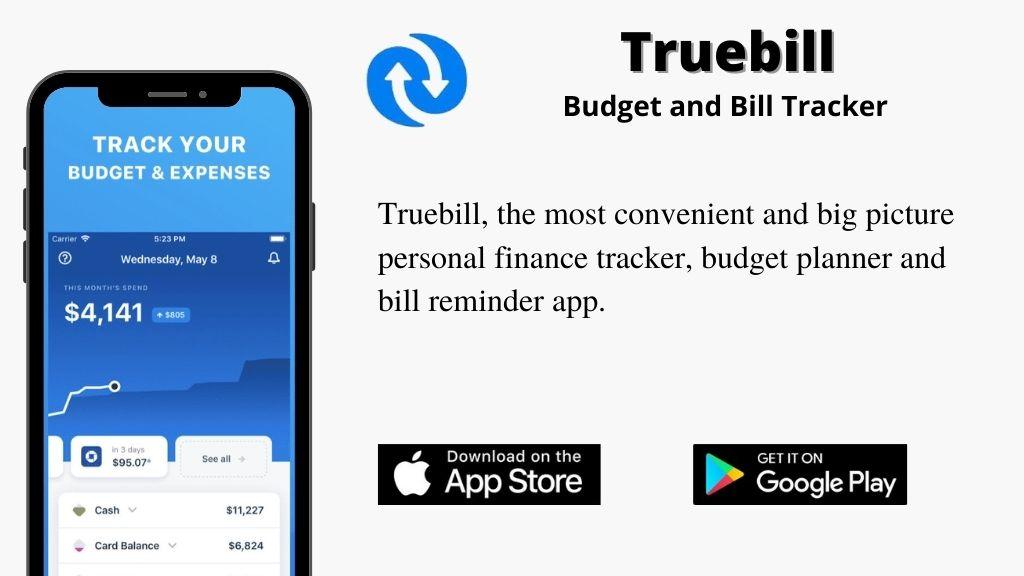Truebill APP review