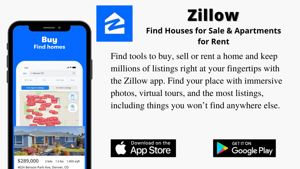 Zillow App For Real Estate & Rentals